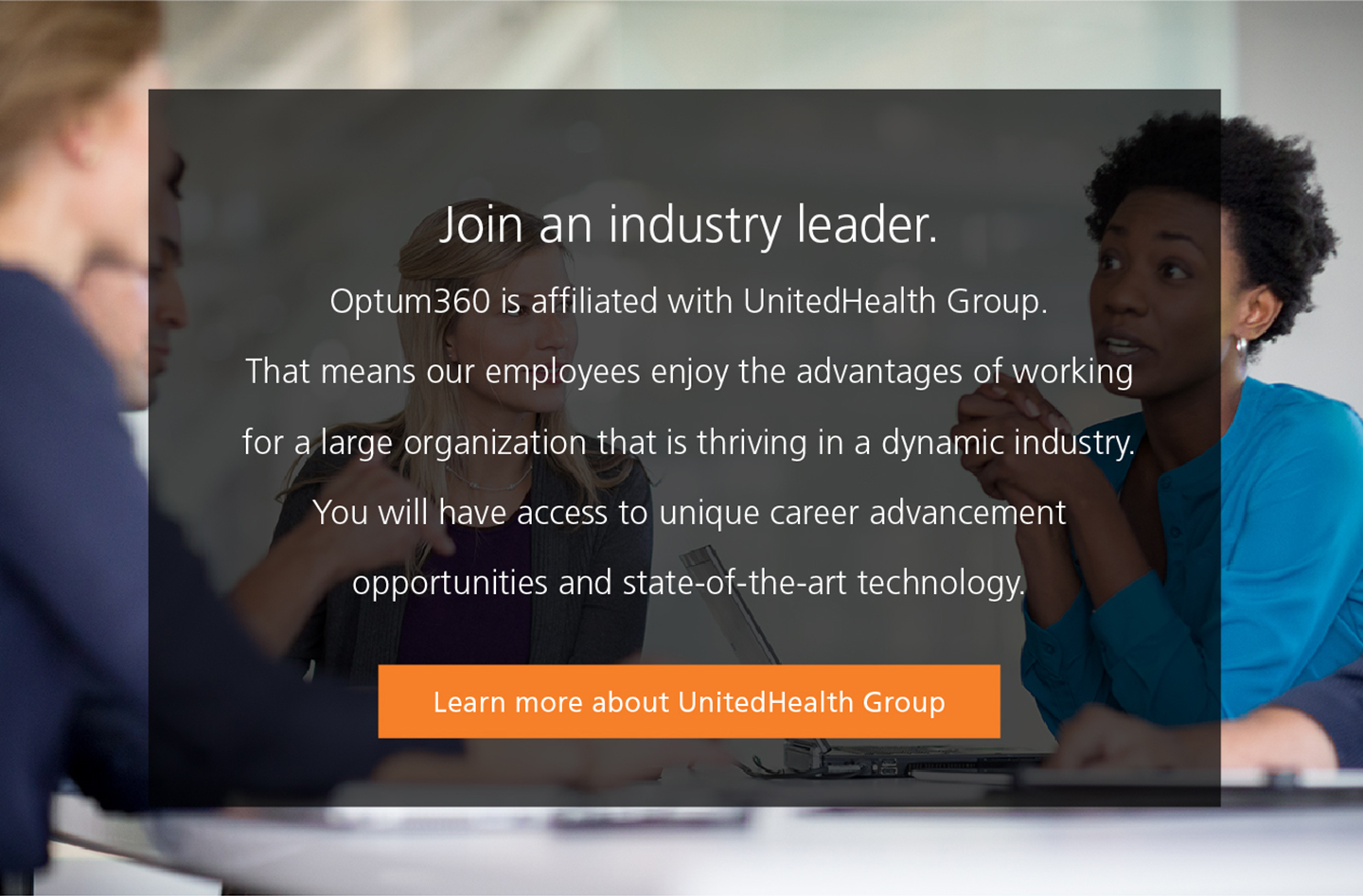 careers optum360 what kind of opportunity are you seeking